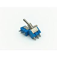 Недорогие Выключатели-lossmann 10pcs 6a ac125v тумблер рокер используется в автомобиль / судно / яхта / гонки - озера синие (вкл-выкл-на переключателе)