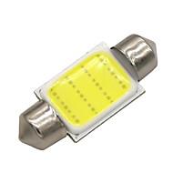 お買い得  -SO.K 10個 T11 車載 電球 3 W COB 120 lm LED インテリアライト