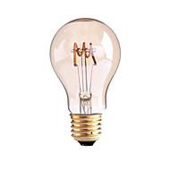 voordelige LED-gloeilampen-4W B22 E26/E27 LED-gloeilampen G60 1 leds COB Dimbaar Warm wit 1000lm 2700-3500K AC 220-240 AC 110-130V