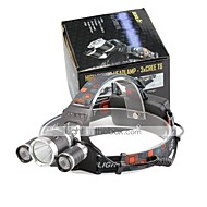 U'King Lampes Frontales Phare LED 4000 lm 4.0 Mode Cree XP-G R5 Cree XM-L T6 Taille Compacte Transport Facile pour