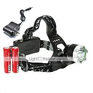 preiswerte Taschenlampen, Laternen & Lichter-U'King Stirnlampen Schweinwerfer LED 2000 lm 3 Modus LED inklusive Batterien und Ladegerät Einfach zu tragen Hohe Kraft Multifunktion