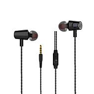 iphoneサムスンHuawei社小米科技ためmircophoneスレッドラインステレオ音楽のイヤホンを使用して新しいlangsdom R36金属重低音ヘッドフォン