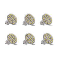 olcso LED szpotlámpák-6db 3 W 200-300 lm GU10 Dekoratív 29 led SMD 5050 Dekoratív Meleg fehér Hideg fehér AC 220-240V
