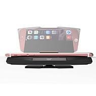 de coche universal ziqiao gps cargador inalámbrico HUD Head Up Display estándar Qi titular fotc para android Samsung Huawei LG navegación
