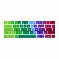 halpa -xskn® eurooppalainen englanti värikäs silikoninäppäimistö ihon ja touchbar suojelija 2016 uusin MacBook Pro 13,3 / 15,4 Touch bar