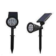 1pcs 4LED Solar Garden Light ABS Waterproof IP65 Outdoor Light White Color Led Solar Lamp