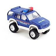 Gegoten voertuigen Terugtrekvoertuigen Speelgoedauto's Constructievoertuig Politieauto Speeltjes Automatisch Metaallegering Metaal Stuks