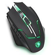 Sades q7 Gaming-Maus mit ergonomischer Maus Form Laser-Tracking-2400 höchstes Niveau dpi