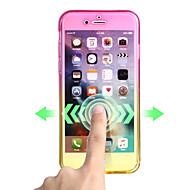 Недорогие Кейсы для iPhone 8 Plus-Кейс для Назначение Apple iPhone X iPhone 8 Ультратонкий Чехол Градиент цвета Мягкий ТПУ для iPhone X iPhone 8 Pluss iPhone 8 iPhone 7