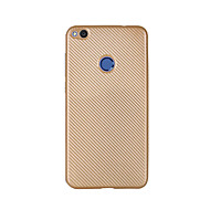 Недорогие Чехлы и кейсы для Huawei Honor-Кейс для Назначение Huawei Honor 5C Huawei Наслаждайтесь 5S Huawei Ультратонкий Кейс на заднюю панель Сплошной цвет Мягкий Углеродное