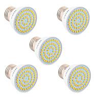 お買い得  LED スポットライト-YWXLIGHT® 5個 5W 400-500lm GU10 GU5.3(MR16) E26 / E27 LEDスポットライト 54 LEDビーズ SMD 2835 装飾用 温白色 クールホワイト ナチュラルホワイト 110-220V