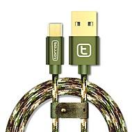 povoljno -USB 2.0 Micro USB 2.0 U obliku pletenice Kabel Za Samsung Huawei Sony Nokia HTC Motorola LG Lenovo Xiaomi 300 cm Najlon Aluminij TPE