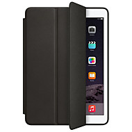 Case For Apple iPad pro 10.5 iPad (2017) with Stand Auto Sleep / Wake Flip Origami Full Body Solid Color Hard PU Leather for iPad (2017) iPad Pro