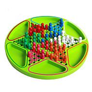 보드 게임 체스 게임 장난감 원형 나무 조각 아동용 남여 공용 선물