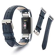 Недорогие Аксессуары для смарт-часов-Ремешок для часов для Fitbit Charge 2 Fitbit Спортивный ремешок Миланский ремешок Кожа Повязка на запястье