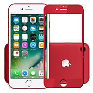 Недорогие Защитные плёнки для экрана iPhone-Защитная плёнка для экрана Apple для iPhone 7 Закаленное стекло 1 ед. Защитная пленка на всё устройство Ультратонкий Уровень защиты 9H HD