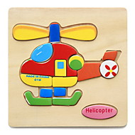Jigsaw Puzzle Wooden Puzzles Educational Toy Toys Animals DIY Kid's Children's Kids 1 Pieces