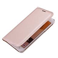 Недорогие Чехлы и кейсы для Galaxy A7(2016)-Кейс для Назначение SSamsung Galaxy A5(2017) A3(2017) Бумажник для карт Флип Чехол Сплошной цвет Твердый Кожа PU для A3 (2017) A5 (2017)
