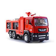 abordables Tiempo Libre-Camión de bomberos Camiones y vehículos de construcción de juguete Coches de juguete 1:50 Vehículos de tracción trasera Música y luz