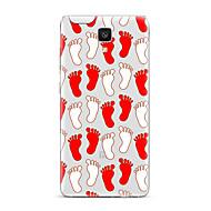 halpa Puhelimen kuoret-Varten Läpinäkyvä Kuvio Etui Takakuori Etui Piirros Pehmeä TPU varten XiaomiXiaomi Mi 5 Xiaomi Mi 4 Xiaomi Mi 5s Xiaomi Mi 5s Plus Xiaomi