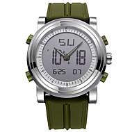 Недорогие Фирменные часы-SINOBI Муж. Спортивные часы электронные часы Кварцевый Цифровой 30 m Защита от влаги Ударопрочный Хронометр силиконовый Группа Аналого-цифровые На каждый день Черный / Белый / Оранжевый -  / Два года