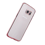 Недорогие Чехлы и кейсы для Galaxy S-Кейс для Назначение SSamsung Galaxy S8 Plus / S8 Покрытие / Ультратонкий / Прозрачный Кейс на заднюю панель Однотонный Мягкий ТПУ для S8 Plus / S8 / S7 edge