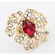 Жен. Классические кольца Кольцо Синтетический алмаз Базовый дизайн Уникальный дизайн С логотипом Цветочный дизайн Цветы Euramerican