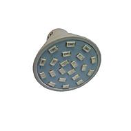 1.5W GU10 GU5.3(MR16) E27 LED Φώτα Καλλιέργειας MR16 21 SMD 5733 250 lm Κόκκινο Μπλε 2700-3500 κ AC110 AC220 V