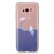 Χαμηλού Κόστους Galaxy S5 Mini Θήκες / Καλύμματα-tok Για Samsung Galaxy S8 Plus S8 Διαφανής Με σχέδια Πίσω Κάλυμμα Κινούμενα σχέδια Μαλακή TPU για S8 S8 Plus S5 Mini S4 Mini