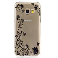 voordelige Weekaanbiedingen Samsung-accessoires-hoesje Voor Samsung Galaxy A5(2017) A3(2017) IMD Transparant Achterkant Bloem Zacht TPU voor A3 (2017) A5 (2017) A7 (2017) A5(2016)