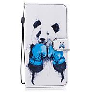 Недорогие Чехлы и кейсы для Galaxy S8-Кейс для Назначение SSamsung Galaxy S8 Plus S8 Кошелек Бумажник для карт со стендом Флип С узором Магнитный Чехол Животное Твердый