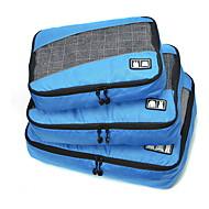 preiswerte Alles fürs Reisen-3 Stück Reisetasche Reisekoffersystem Tragbar Klappbar Langlebig Hohe Kapazität Kulturtasche Koffer Accessoires Kleider Stoff Polyester
