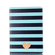 Для samsung galaxy tab a 9.7 a 7.0 e 9.6 case cover полосатый love pattern карточка стент pu материал плоская защита ракушка