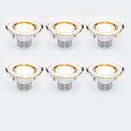 저렴한 -LED 스포트라이트 따뜻한 화이트 차가운 화이트 LED 6개