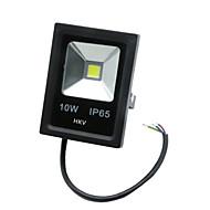 billige LED-projektører-HKV 10W LED-projektører Let Instalation Vandtæt Udendørsbelysning Garage/carport Opbevaringsrum/bryggers Varm hvid Kold hvid AC85-265