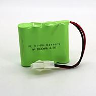 Χαμηλού Κόστους Μπαταρίες & Φορτιστές-μπαταρία νικελίου υδρογόνου ni-mh aa 1800mah 4.8v 557 κεφαλές 1 τεμ (πράσινο χρώμα)