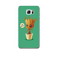 Για Θήκες Καλύμματα Εξαιρετικά λεπτή Με σχέδια Πίσω Κάλυμμα tok Δέντρο Μαλακή TPU για Samsung Note 5 Note 4 Note 3