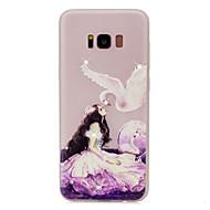 Для Стразы Сияние в темноте С узором Кейс для Задняя крышка Кейс для Соблазнительная девушка Мягкий TPU для Samsung S8 S8 Plus S7 edge S7
