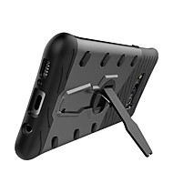 billige Galaxy S7 Edge Etuier-Etui Til Samsung Galaxy S8 Plus S8 Stødsikker Med stativ 360° Rotation Bagcover Helfarve Hårdt PC for S8 Plus S8 S7 edge S7 S6 edge plus
