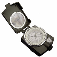 cheap Camping & Hiking Accessories-Professional Multifunction Military Army Metal Sighting Compass High Accuracy Waterproof Compass Green Color
