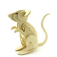 tanie Zabawki & hobby-Zabawki 3D Zabawki Myszka Drewniany Dla obu płci Sztuk