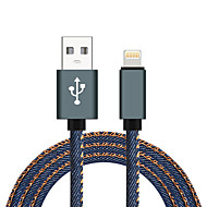 iPhone Cable Apple Certified Lightning to USB Cable JDB MFi 8Pin 3.3ft (1m) 2.1A Data Fast Charging Cable For iPhone X 8 8Plus 7 6 6 Plus 5 5s iPad