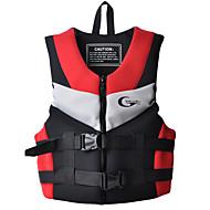 お買い得  ライフジャケット-ライフジャケット 高通気性 潜水 サーフィン ナイロン ネオプレン EPE ファッション レッド ブルー