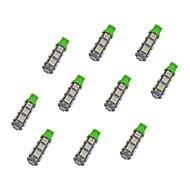 Недорогие Сигнальные огни для авто-10 шт. T10 Автомобиль Лампы 1.5W W SMD 5050 110lm lm Лампа поворотного сигнала ForУниверсальный