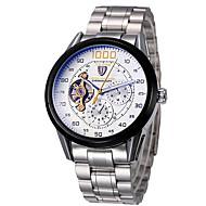 Tevise Мужской Для пары Спортивные часы Нарядные часы Модные часы Механические часы КварцевыйКалендарь Защита от влаги С гравировкой