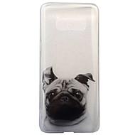 Для IMD Прозрачный С узором Кейс для Задняя крышка Кейс для С собакой Мягкий TPU для Samsung S8 S8 Plus