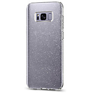 For Samsung Galaxy S8 Plus S8 Case Cover Flash Powder Triple IMD Technology TPU Phone Case