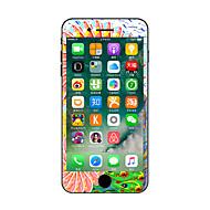 Недорогие Защитные плёнки для экрана iPhone-1 ед. Наклейки для iPhone 7 Plus iPhone 7 iPhone 6s Plus/6 Plus iPhone 6s/6 iPhone SE/5s/5 iPhone 5 iPhone 4/4S Защита от царапин Цветы