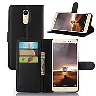 preiswerte Handyhüllen-Hülle Für Xiaomi Xiaomi Redmi 2 Kreditkartenfächer Geldbeutel Stoßresistent mit Halterung Ganzkörper-Gehäuse Volltonfarbe Hart PU-Leder