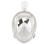 Buceo Máscaras Máscara de esnórquel Protector Máscaras de Cara Completa Buceo y Submarinismo Natación Neopreno Fibra de vidrio Silicona